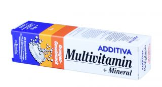 ADDITIVA MULTIVITAMIN + MULTIVITAMIN šķīstošās tabletes, 20 gb.
