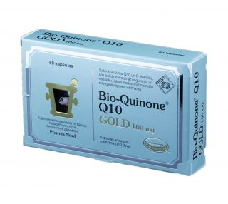 BIO-QUINONE ACTIVE GOLD 100 mg tabletes, 60 gb.