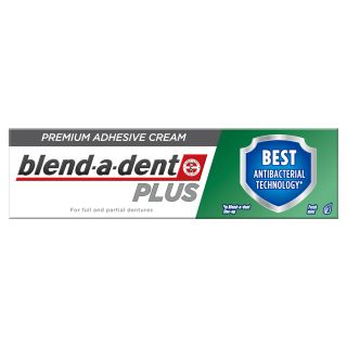 BLEND-A-DENT Dual Protection Plus protēžu līme, 40 g