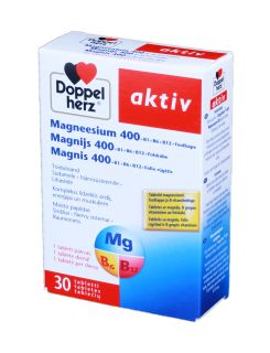 DOPPLEHERZ ACTIV tabletes, 30 gb.