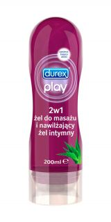 DUREX Play Aloe Vera 2in1 lubrikants, 200ml