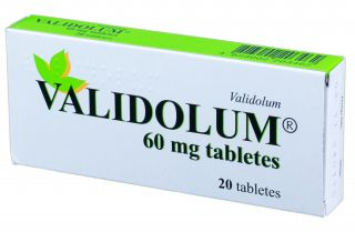 VALIDOLUM 60 mg tabletes, 20 gb.