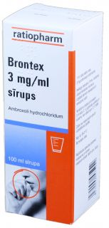 Brontex 3 mg/ml sīrups, 100 ml