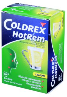 COLDREX HotRem Lemon pulveris N10