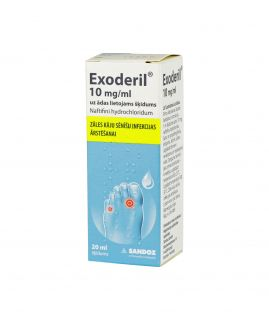 EXODERIL 20ML šķīdums