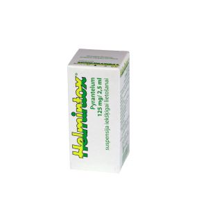 HEMINTOX 125mg/2.5ml suspensija, 15ml