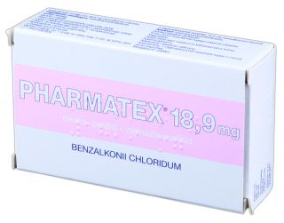 PHARMATEX 18,9 mg pesāriji, N10