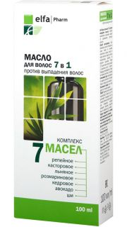 ELFA PHARM 7 in 1 matu eļļa, 100 ml