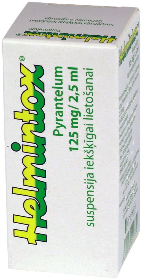 Helmintox suspensija zidainim. Ce este Helmintox, suspensie orala si pentru ce se utilizeaza