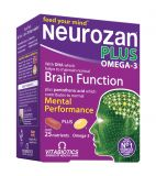 NEUROZAN PLUS OMEGA-3 kapsulas un tabletes, 28+28 gab.