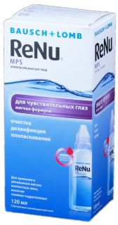 RENU Multi Plus šķīdums kontaktlēcām, 120 ml